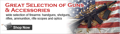 Great Selection of Guns and Accessories
