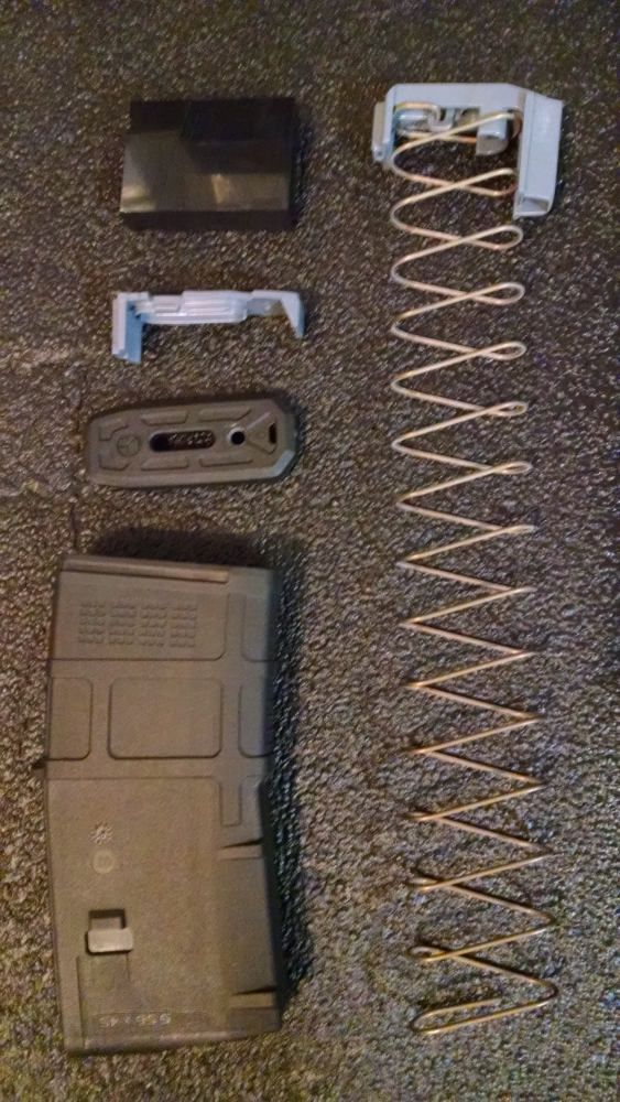 Magpul PMAG GEN 3 10/20 - Black Permanently Modified